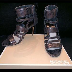 MICHAEL Michael Kors Shiloh Sandal, Size 9-1/2
